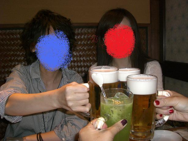 カプリミーノ乾杯