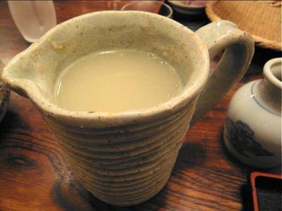 8-12-30 蕎麦湯