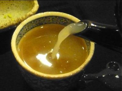 09-1-21 蕎麦湯