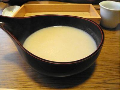 09-3-12 蕎麦湯