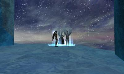 氷魔塔はいつ行っても綺麗だ。