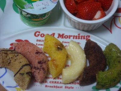 朝食(2011年5月28日)