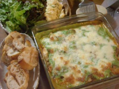 夕飯(2011年5月30日)