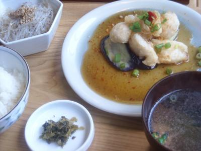 魚サクサク揚げ(萬福食堂)
