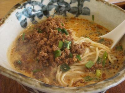 タンタン麺(萬福食堂)