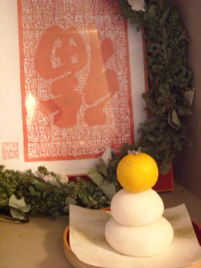お正月飾り(2012年)玄関