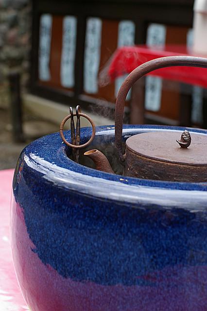 茶店の鉄瓶