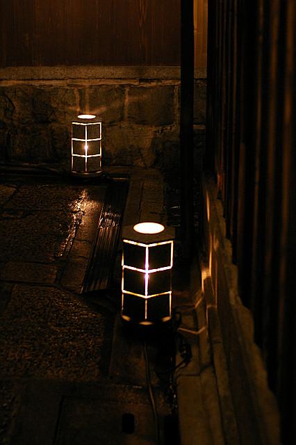 陶器の灯り