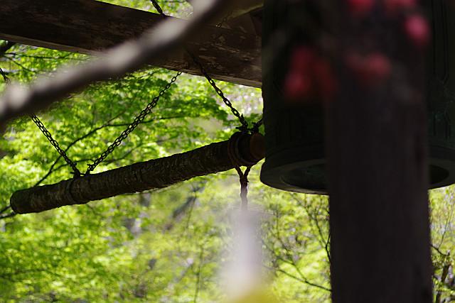 撞木が揺れる