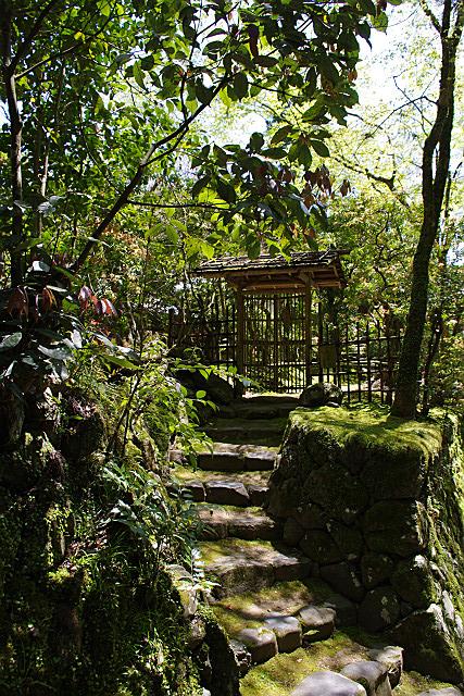 庭園入り口