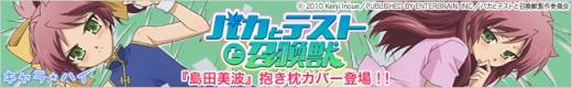 「バカとテストと召喚獣」島田美波 抱き枕カバー