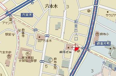 BRAVEREBARの地図