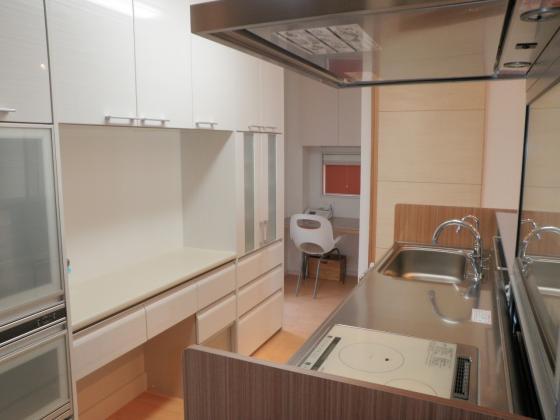 キッチンとPCスペース