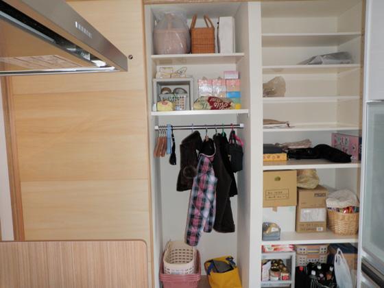 キッチン収納①