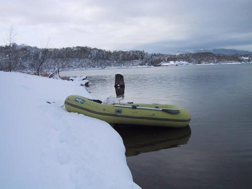 冬のゴムボ