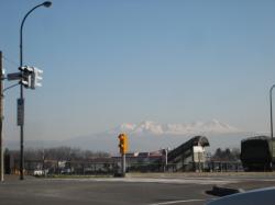 お天気の良い日、春光台から大雪山
