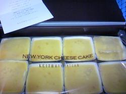 チーズケーキが8個(^^)V