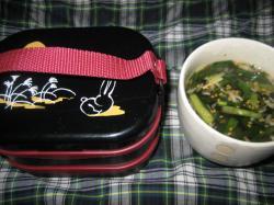 ある日のお弁当(^^)