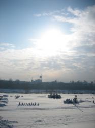寒さが続いた11月の朝