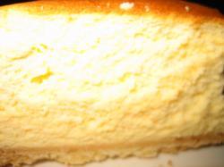 滑らかでおいしいベイクドチーズケーキですよ(*^_^*)