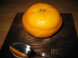 柚子の蒸し物