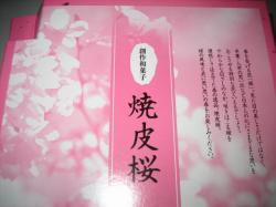 焼皮桜・・・なんて読むの?