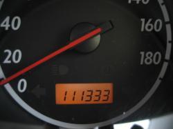 111333km 並ぶとなぜか・・・うれしい(笑)