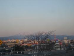 12号線から見える大雪山