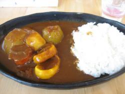 野菜カレー 半額で450円
