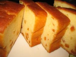 ずっしりとしたパウンドケーキ