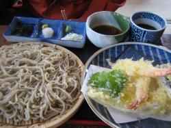 天ざる(キタワセソバ)1,300円