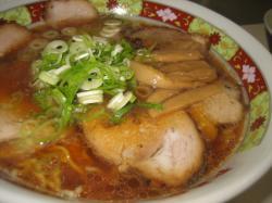 昔風醤油チャーシュー麺800円