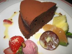チョコレートケーキ400円