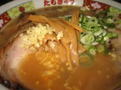 生姜・特選チャーシュー麺 1,000円