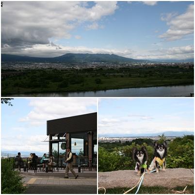 富士川景色
