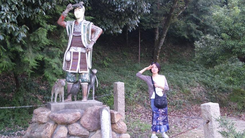 桃太郎さんと私