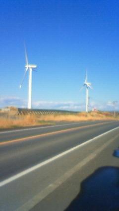 オロロンラインと風車