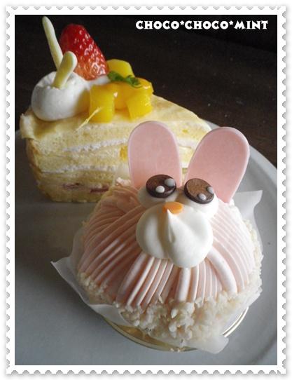 うさぎケーキ2