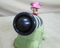 フィギュア付大砲型ストックケース
