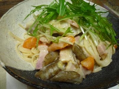 081125 根野菜のスパゲティ