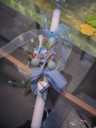 今年の復活祭に、洗礼親がうちの息子にプレゼントしてくれたランパーダ