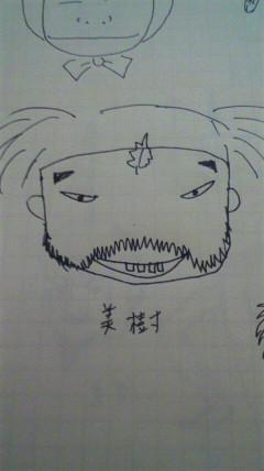 山名さん似顔絵(獅子丸さま)