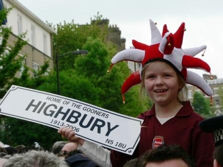 Highbury plate