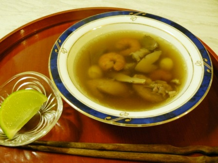 土瓶蒸し風スープ