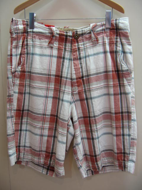 HOLLISTER CHECKED SHORTS
