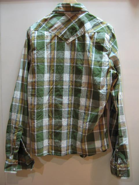 HOLLISTER MENS PLAID SHIRT