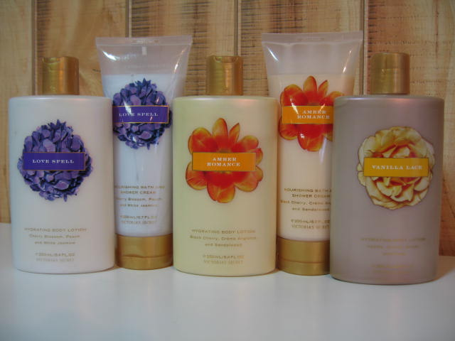 VICTORIA'S SECRET HYDRATING BODY LOTION / BATH AND SHOWER CREAM