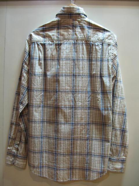 トミーヒルフィガー メンズ長袖チェックシャツ