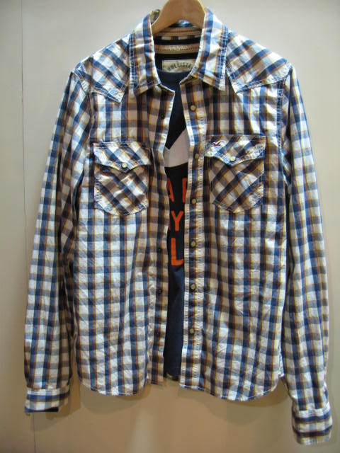 HOLLISTER PLAID SHIRTS / HOLLISTER T-SHIRT