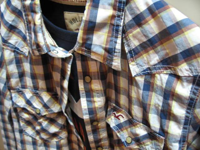 ホリスター メンズ 長袖 チェックシャツ HLM-0912-75-1